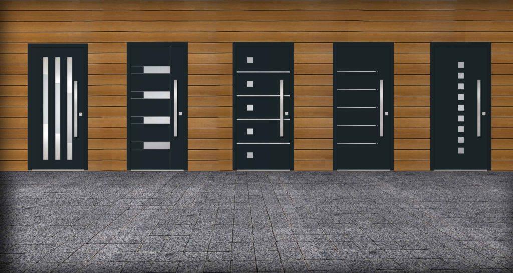 Projekty drzwi aluminiowych
